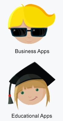 business and educational apps