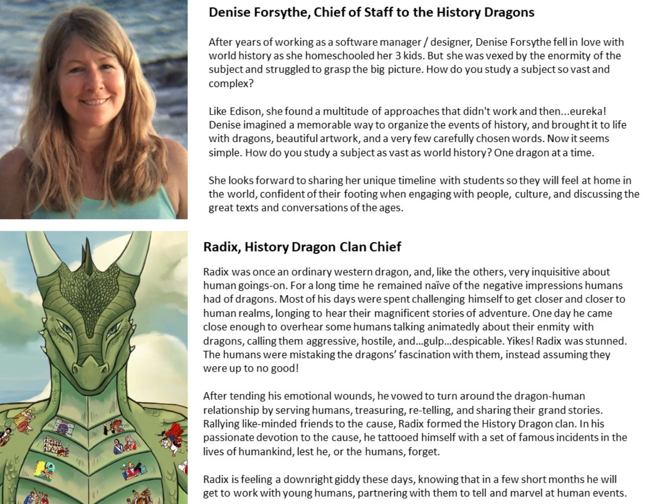 About - History Dragon