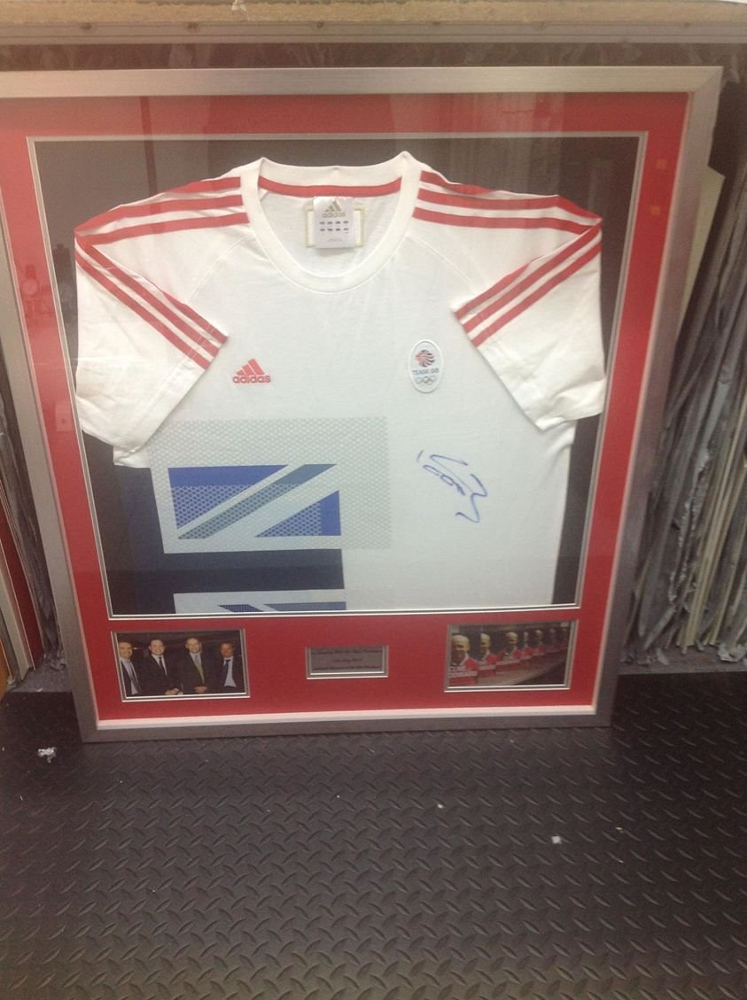 sport shirt framing edinburgh