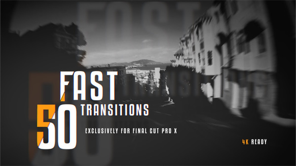 50 Fast Transitions for Final Cut Pro X Tutorial