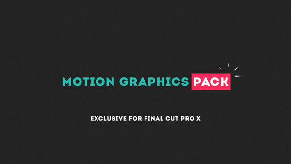 Motion Graphics Pack