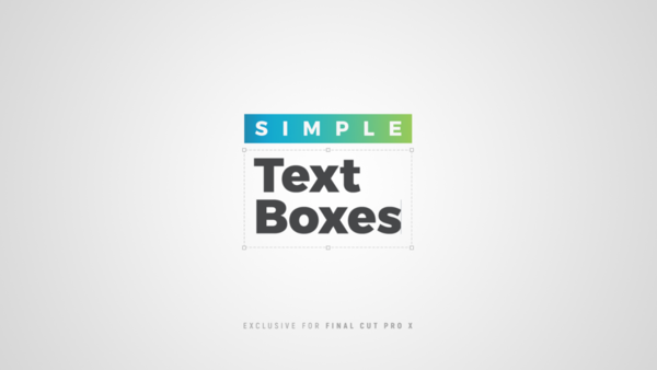 Simple Text Boxes