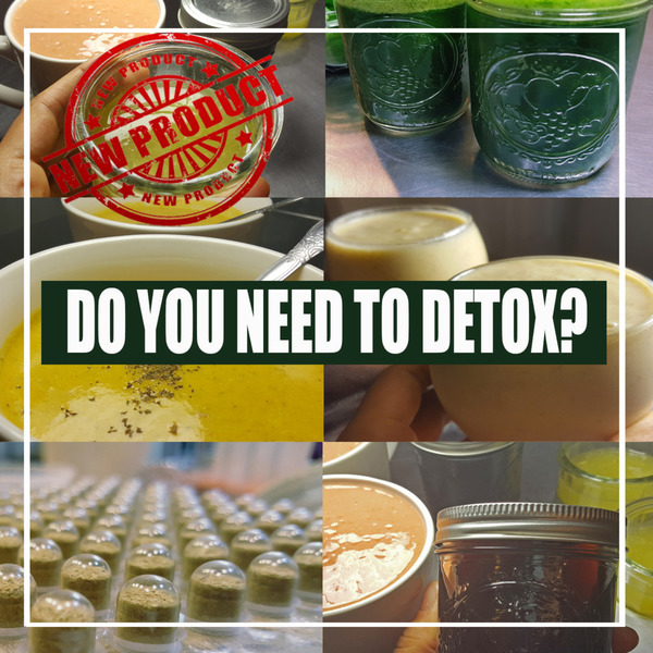 DO YOU WANT TO DETOX WITH US?