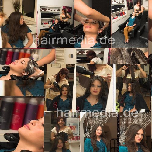 b020 Mitchelle shampooing and blow out