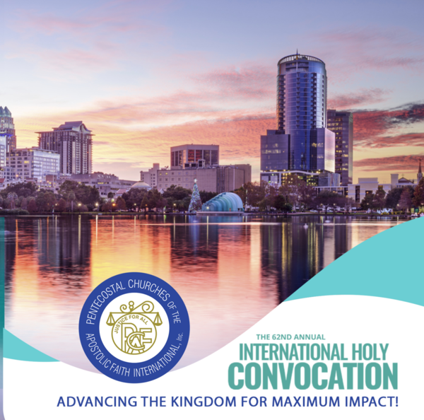 2019 PCAF Holy Convocation in Orlando, FL - CDs & DVDs