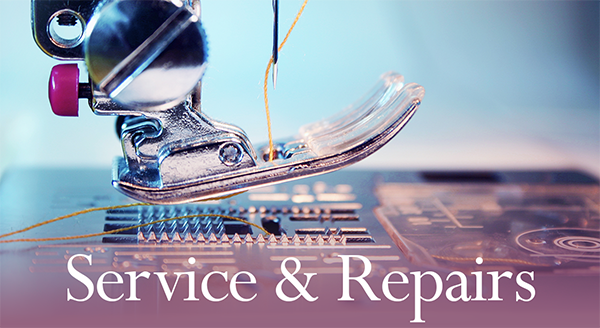 Sewing Machine Service & Repairs