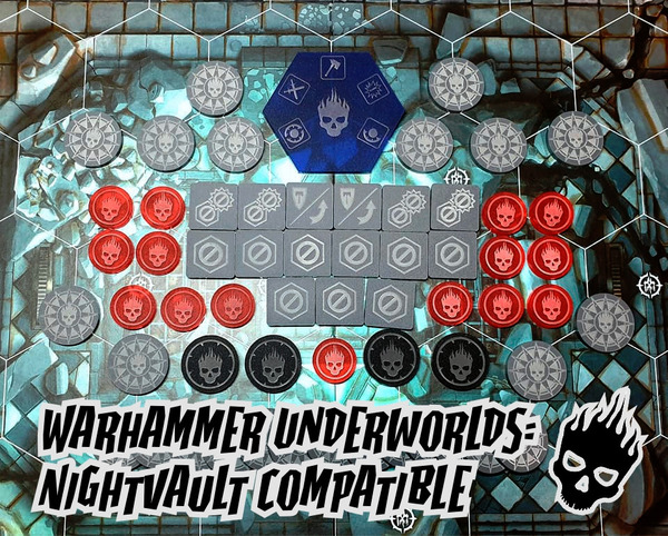 AoS Warhammer Underworlds - Suitable for Shadespire & Nightvault