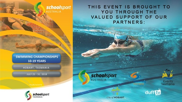 School Sport Australia Swimming Championships 2018 - Duff TV Videos