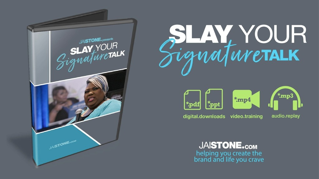 Your signature talk video training blueprint jaistore malvernweather Gallery