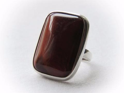 Sterling Silver Red Iron Tiger Eye - The Bodhi Tree, Port Stanley