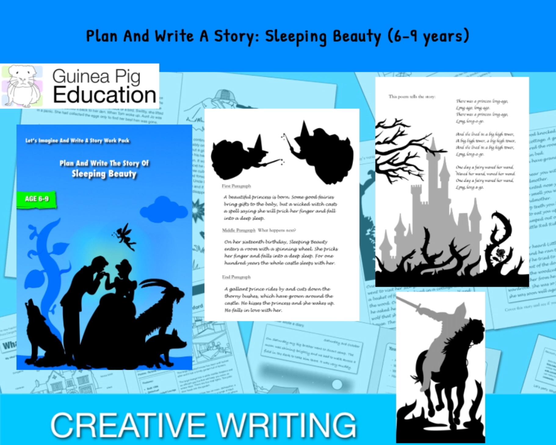 Plan And Write The Story Of Sleeping Beauty' (6-9 years) - Guinea Pig  Education Shop