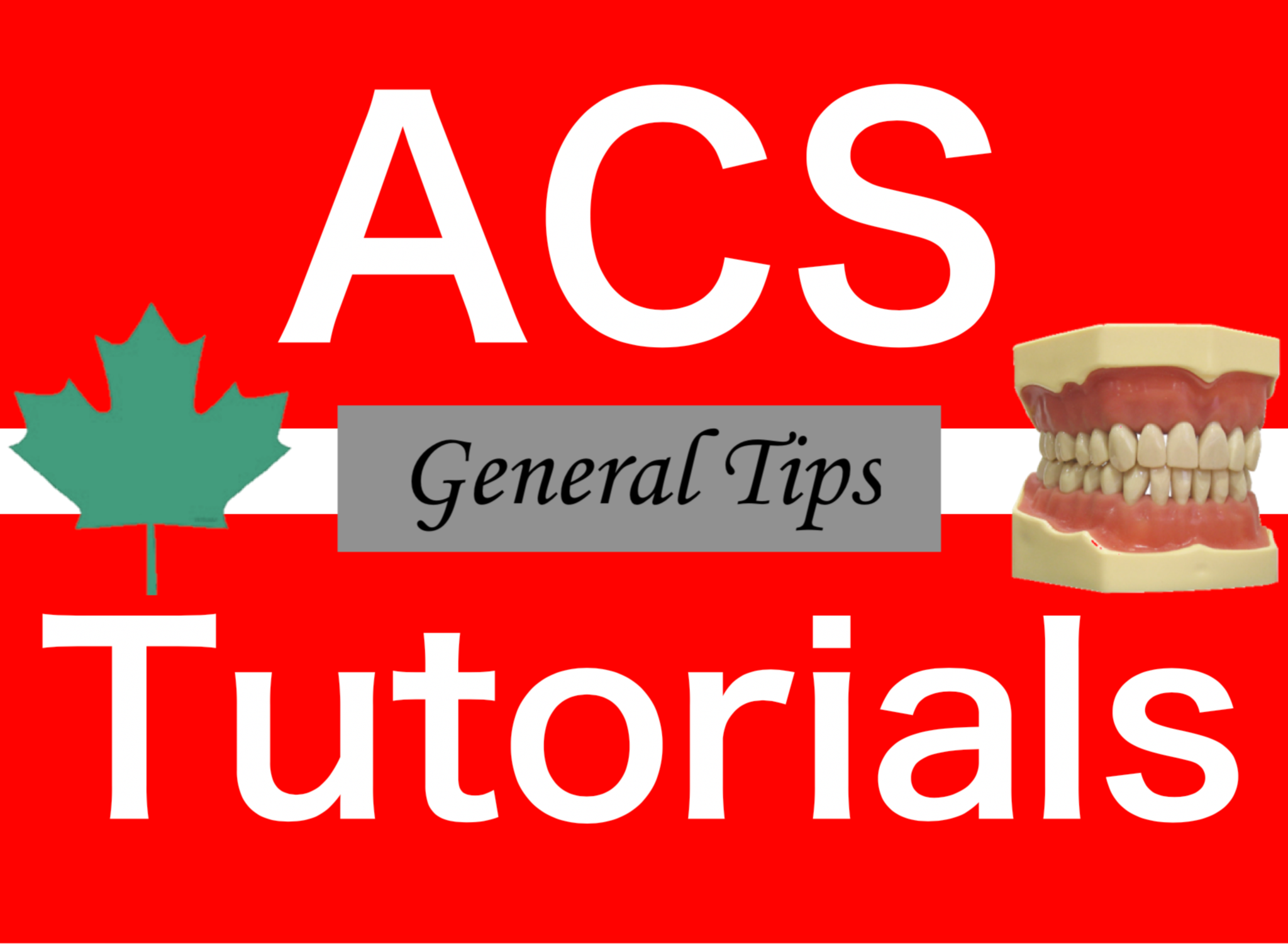 Tips and Tricks for the NDEB ACS - ACS Tutorials