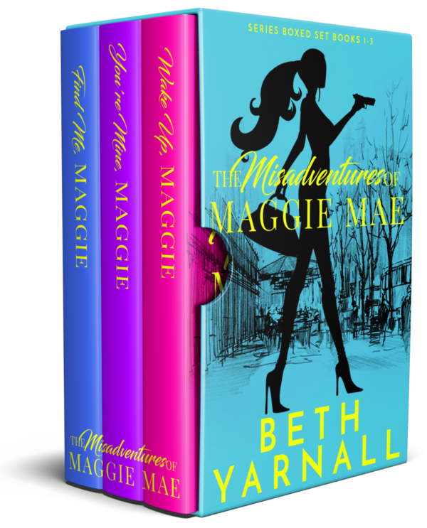The Misadventures of Maggie Mae boxed set for Kindle