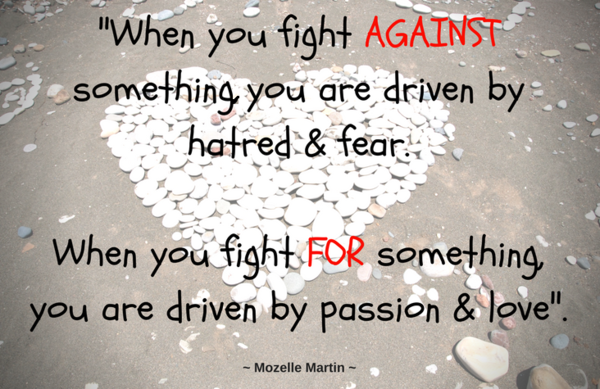 Driven by Hatred or Love Quote