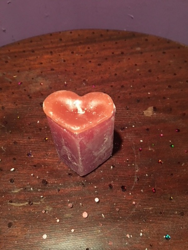 Tiny Heart Candle (Limited Edition)