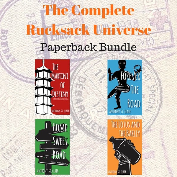 COMPLETE Rucksack Universe Autographed Paperback Bundle - All Books