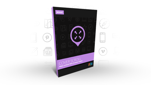 Adobe Muse Widget or Adobe Muse Template | Cover Scroll