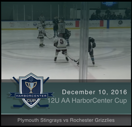 12U AA Plymouth Stingrays vs Rochester Grizzlies