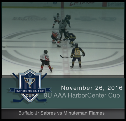 9U AAA Buffalo Jr. Sabres vs Minuteman Flames