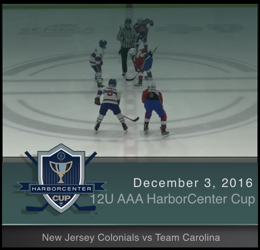 12U AAA New Jersey Colonials vs Team Carolina