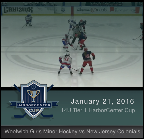 14U Tier 1 Woolwich Girls Minor Hockey vs New Jersey Colonials