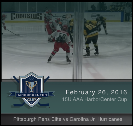 2/26/17 - 15U AAA Pittsburgh Pens Elite vs Carolina Jr. Hurricanes