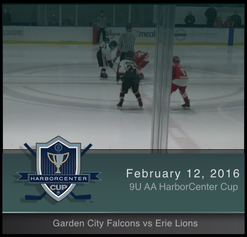 9U AA Garden City Falcons vs Erie Lions