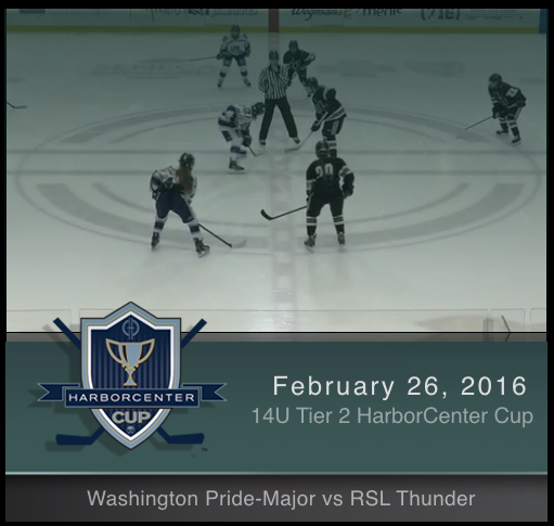 14U Tier 2 Washington Pride-Major vs RSL Thunder