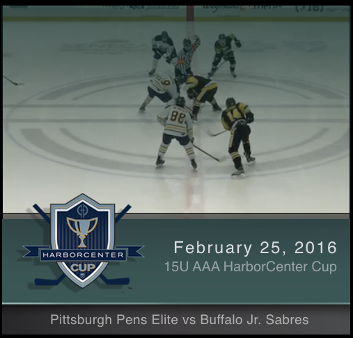 15U AAA Pittsburgh Pens Elite vs Buffalo Jr. Sabres