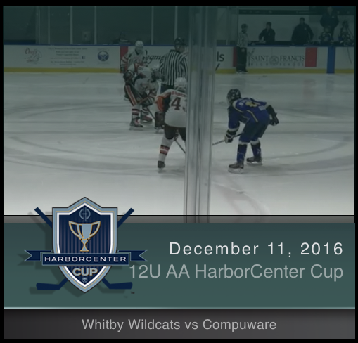 12U AA Whitby Wildcats vs Compuware