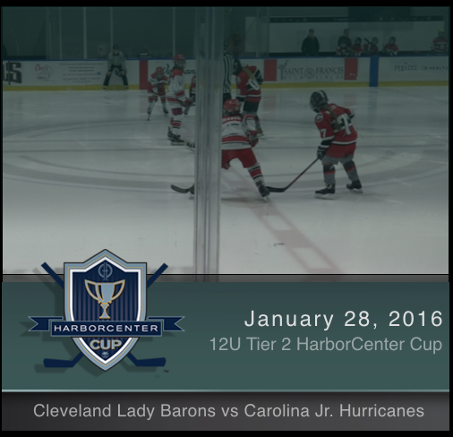 12U Tier 2 Cleveland Lady Barons vs Carolina Jr. Hurricanes