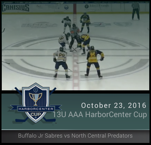 13U AAA Buffalo Jr Sabres vs North Central Predators