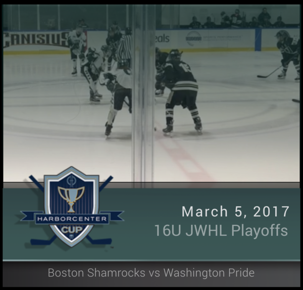 JWHL 16U Boston Shamrocks vs Washington Pride