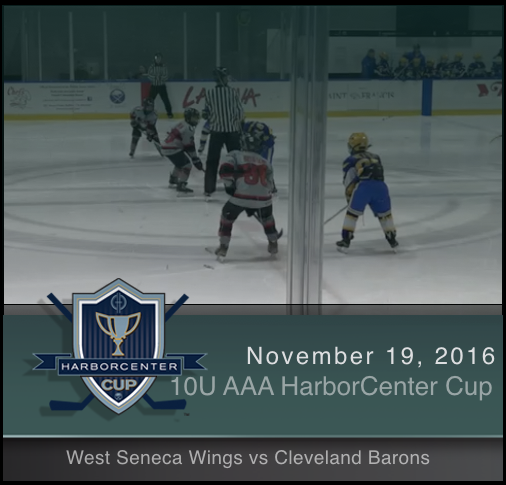 10U AAA West Seneca Wings vs Cleveland Barons