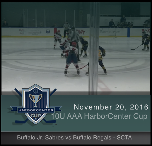 10U AAA Buffalo Jr. Sabres vs Buffalo Regals - SCTA