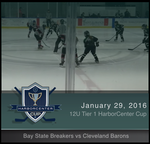 12U Tier 1 Bay State Breakers vs Cleveland Lady Barons