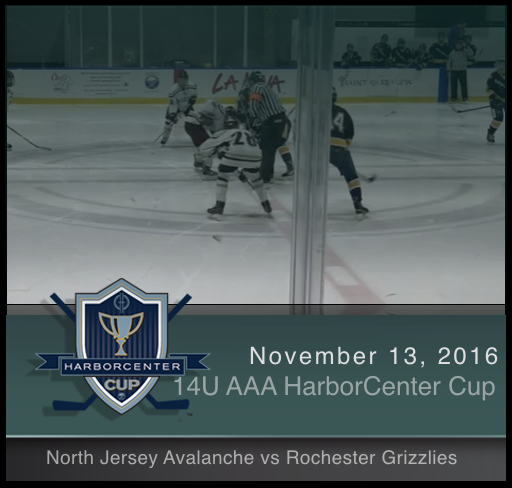 14U AAA North Jersey Avalanche vs Rochester Grizzlies