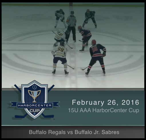 2/26/17 - 15U AAA Buffalo Regals vs Buffalo Jr. Sabres