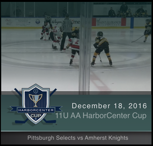 11U AA Pittsburgh Selects vs Amherst Knights