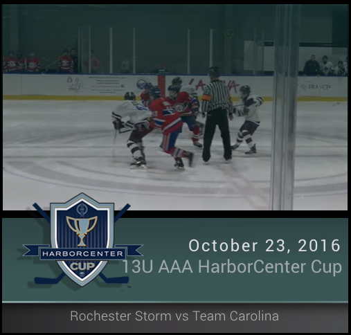 13U AAA Rochester Storm vs Team Carolina