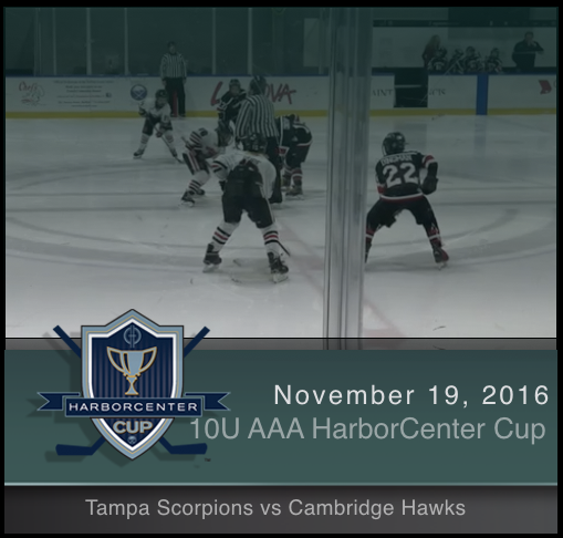 10U AAA Tampa Scorpions vs Cambridge Hawks