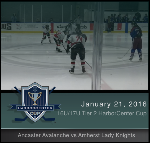 16U/17U Tier 2 Ancaster Avalanche vs Amherst Lady Knights