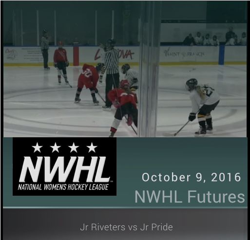 10/9/16 - 10U NWHL - Jr Pride vs Jr Riveters