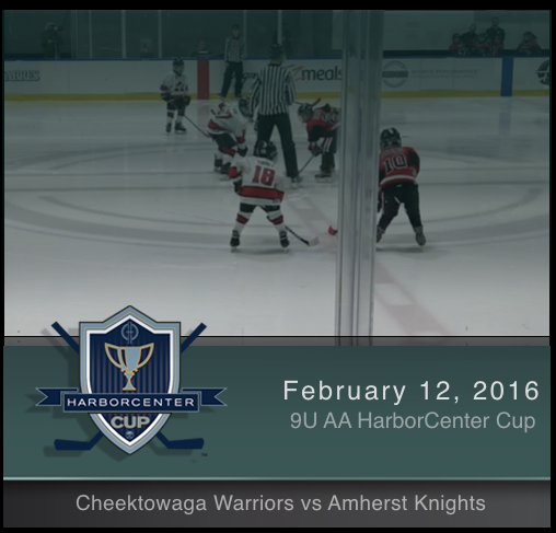 9U AA Cheektowaga Warriors vs Amherst Knights
