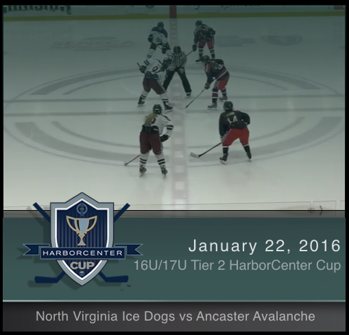 16U/17U Tier 2 North Virginia Ice Dogs vs Ancaster Avalanche