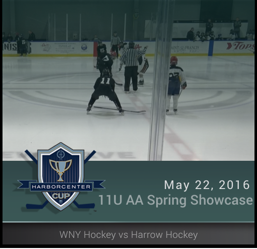 5/22/16 - 11U AA Spring Showcase - Junior Dark Knights vs Buffalo Icemen