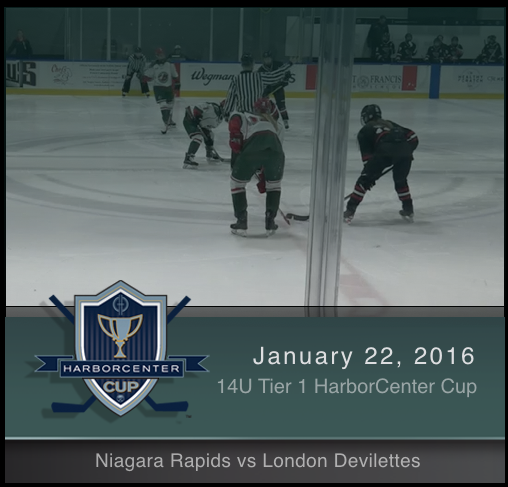 14U Tier 1 Niagara Rapids vs London Devilettes