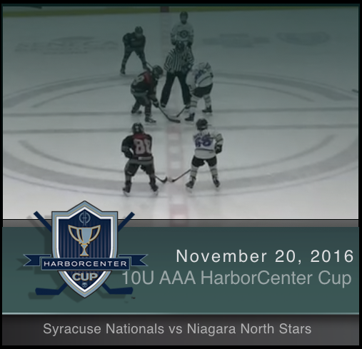 10U AAA Syracuse Nationals vs Niagara North Stars