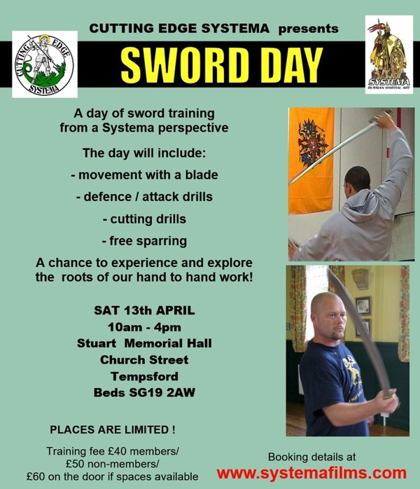 Sword Day Workshop