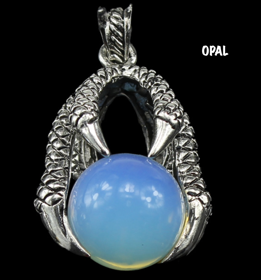 Dragon Claw With Crystal Ball Necklace Meaning - The Best